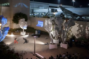 Performance/Art Arrives at LAX Airport