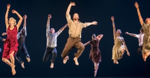 "Ballet Jazz de Montréal in ""Harry"" by Barak Marshall. Photo: Gregory Batardon"