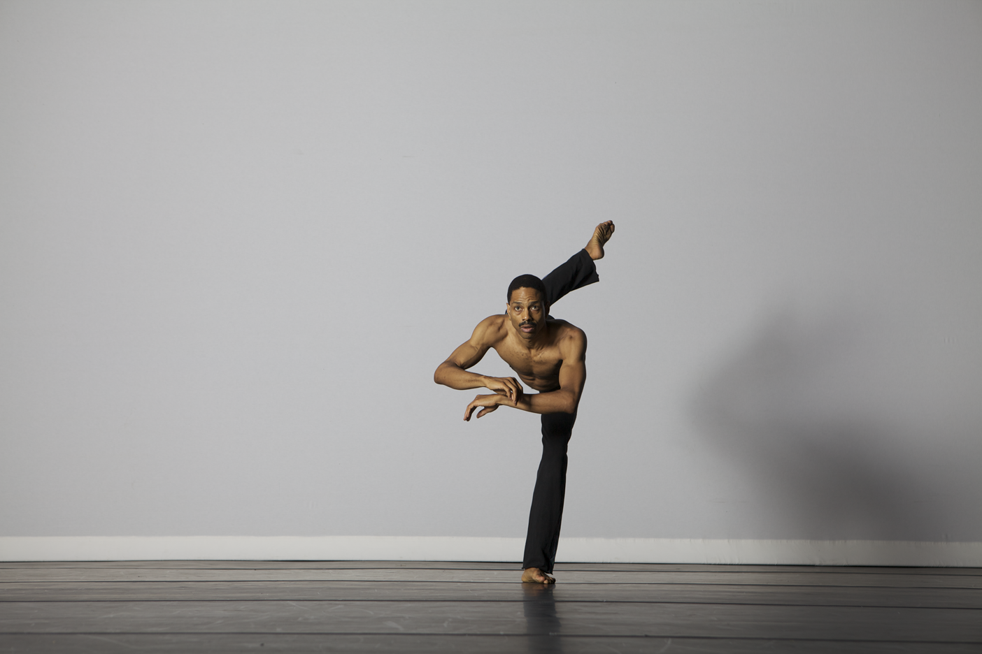 "Norwood Pennewell in ""Prelude."" Photo: Greg  Barrett"