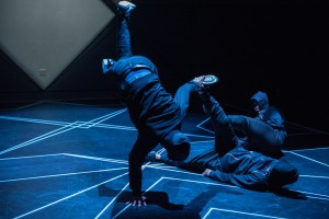 "Dancers of ""Opposing Forces,"" Amy O'Neal's all-male hip hop odyssey.  Photo: Bruce Clayton Tom."