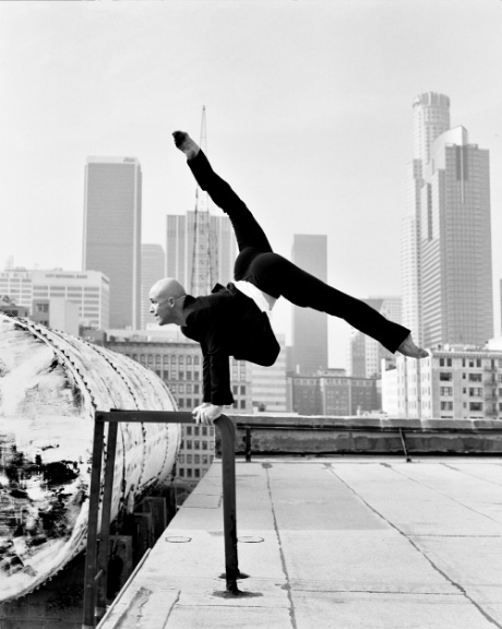 Charlie Hodges from the L.A. Dance Project. Photo courtesy of Dance Map LA.