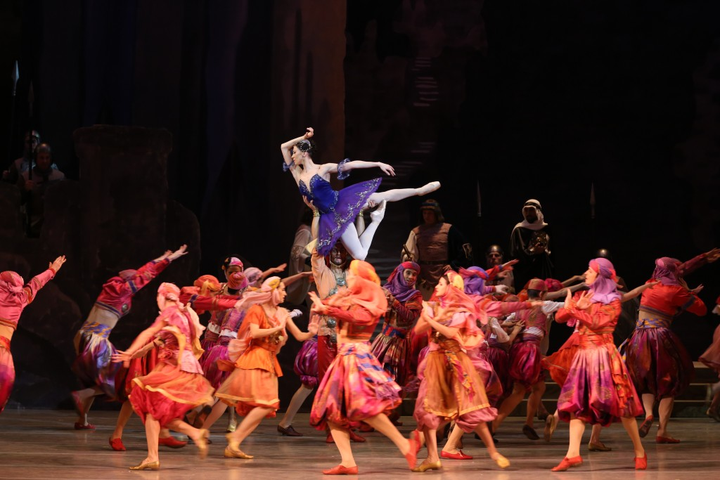 "Viktoria Tereshkina in the U.S. debut of the Mariinsky's complete ""Raymonda."" Photo: Natalia Razina"