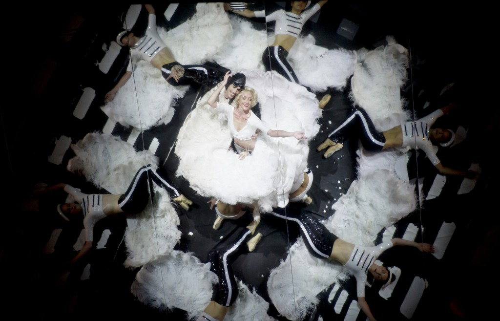 "The Hollywood musical number celebrated in ""Chore."" Photo: Alice Blangero"