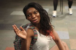 Michaela Coel in Home Photo: Ellie Kurttz