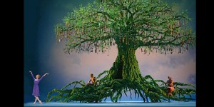 The opening of Act II of The Winter's Tale (Royal Ballet)
