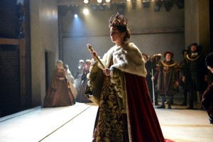 Lydia Leonard in Wolf Hall. Photo: Keith Pattison (also top photo)