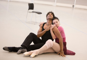 Osipova and Acosta in rehearsal Photo: Andrej Uspenski