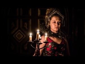 Amy Morgan as Penthea. Photo: Shakespeare's Globe