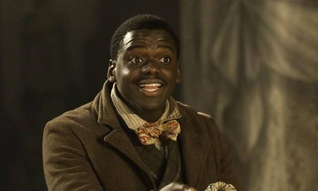 Daniiel Kaluuya as the Robertson-like playwright in Trelawny of the 'Wells'. Photo: Johan Persson