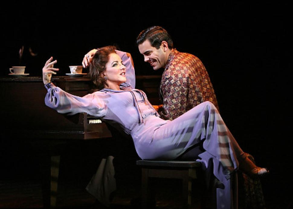Stockard Channing and Matthew Risch in the 2008 Roundabout revival. Photo: Joan Marcus