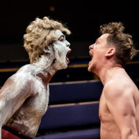 Propwatch: the facepaint pots in An Octoroon
