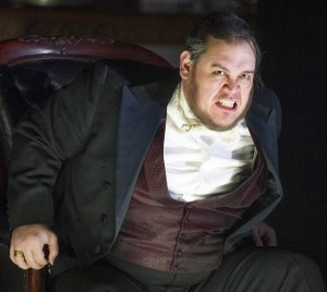 Quinn Kelsey as Rigoletto photograped by Alastair Muir