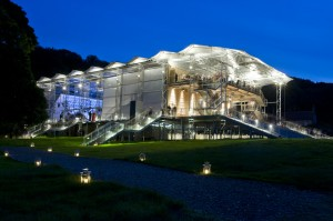 Garsington Opera Pavilion by Night photo Mike Hoban
