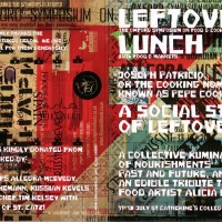Jake Tilson's design for Pepe's Lefotovers Menu in Homage to Alicia Rios