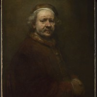 Rembrandt SELF PORTRAIT AT THE AGE OF 63