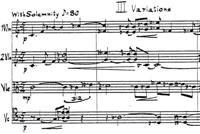 The Mount Everest Of String Quartets
