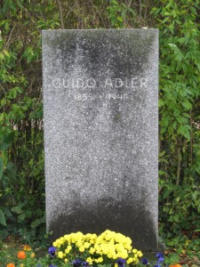 GuidoAdler-tomb