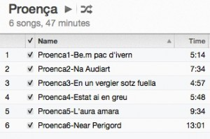 Proenca-timings