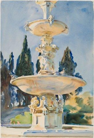 Sargent watercolor