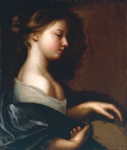 Portrait of a Young Girl circa 1681 by Mary Beale 1633-1699