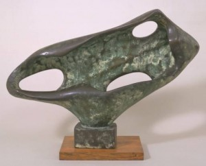 Sea Form (Porthmeor) 1958 by Dame Barbara Hepworth 1903-1975