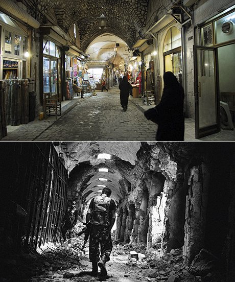 The Old Souk in Aleppo