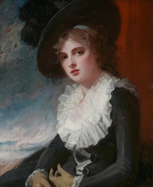 4. Portrait of Emma Hart_George Romney
