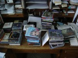 CDs on Desk