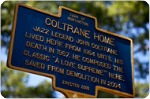 Coltrane Home sign