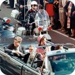 Kennedy in Motorcade