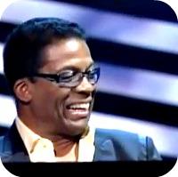 Herbie Hancock smiling