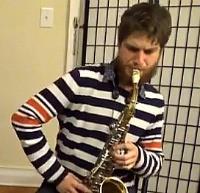 Logan Strosahl, alto sax