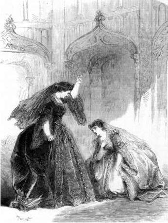 An early performance of Anna Bolena