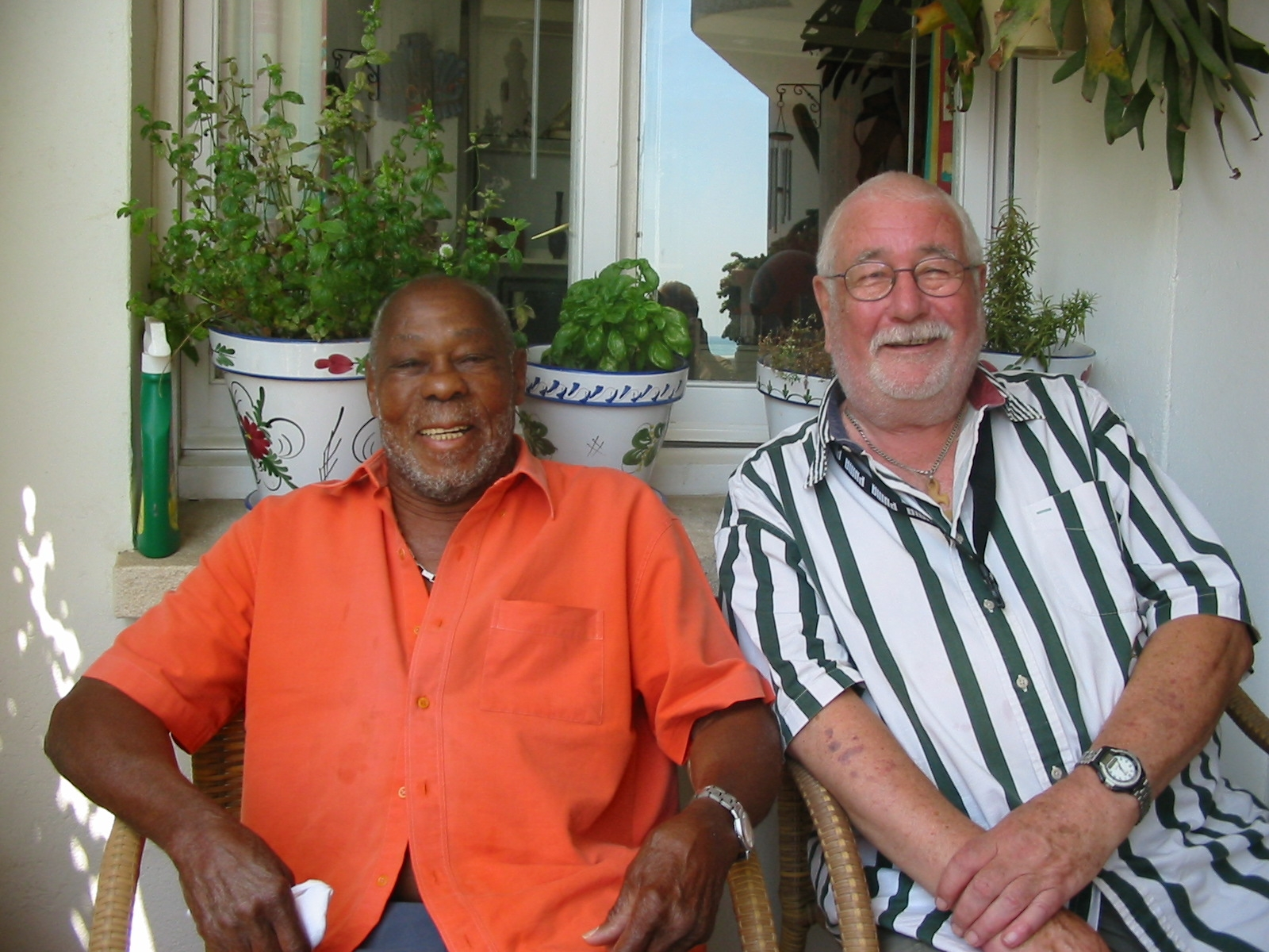 Christopher Small and Neville Braithwaite