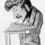 A caricature of Donizetti