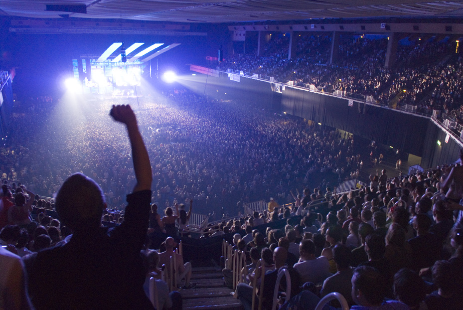 Why aren't your concerts exciting?