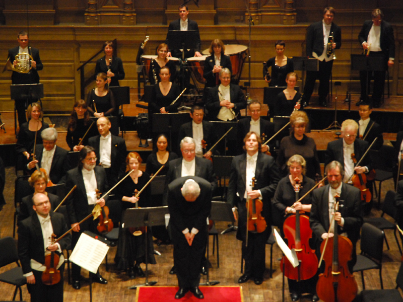 Photos of orchestras almost always look boring