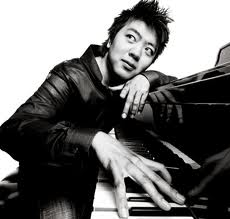 Lang Lang's hair sticks straight up