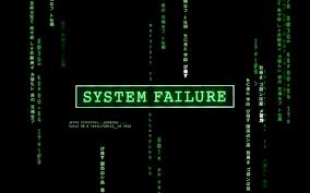 system failure blog