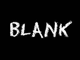 blank blog