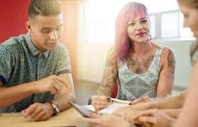 Tattoos pink hair blog