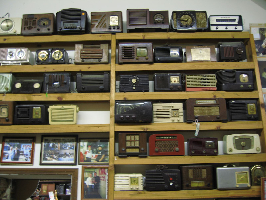 Jasper's Antique Radio Museum (thanks to trustynick)
