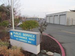 Entrance to Walnut Creek's maintenance yard