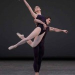 "Tiler Peck and Gonzolo Garcia in ""Polyphonia"" Photo:  Paul Kolnik"