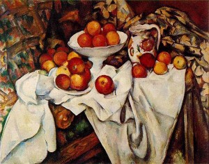 Cezanne apples and oranges