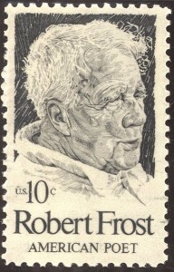 RobertFrost stamp