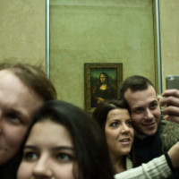 Selfies in the museum, Victorian edition